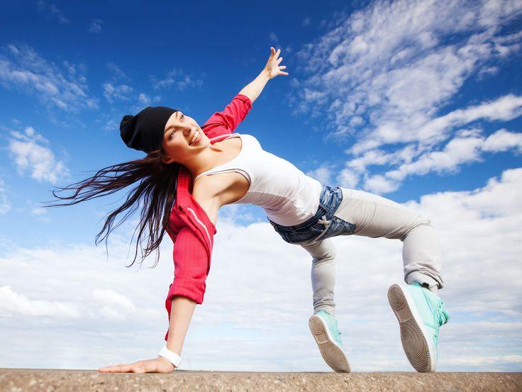 Olivia Wilde's fun dance workout
