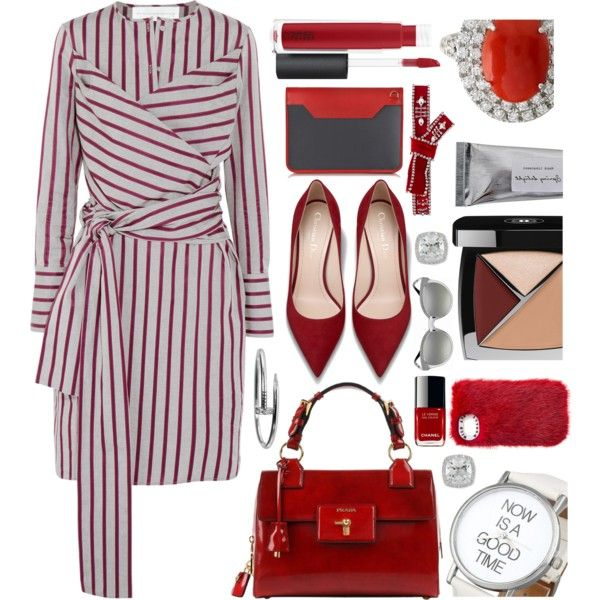 Now is the time by sunnydays4everkh on Polyvore featuring moda, Victoria, Victoria Beckham, Versace, Cartier, Frederic Sage, Dsquared2, Chanel, John Lewis, Bloomingville and Aznom