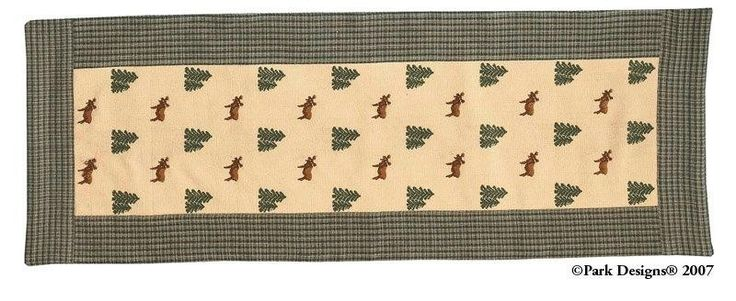 "Northern Exposure Table Runners 36"" Retired"