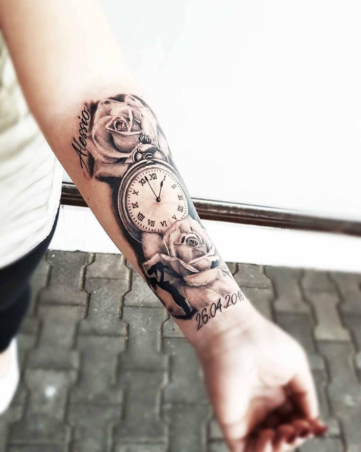 46 Best Beautiful Forearm Tattoos für Männer und Frauen; Unterarm Tatt …   -…