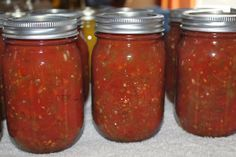 Canned Salsa is a staple in our house!