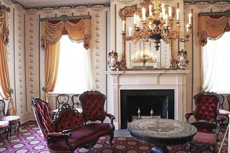 https://flic.kr/p/ek3c5f | Parlor at President James K Polks Ancestral Home Columbia Tennessee | The only remaining residence of James K. Polk except the White House, the ca. 1816 home was built by Polk's father Samuel, and is one of the best examples of Federal style architecture remaining in Tennessee. Today, the Home displays original items from James K. Polk's years in Tennessee and Washington, D.C. including furniture, paintings, and White House china. President Polk was born in 1795...