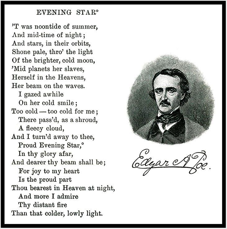 ¤ Poet Ponderings ¤ poetry, quotes haiku Edgar Allan Poe