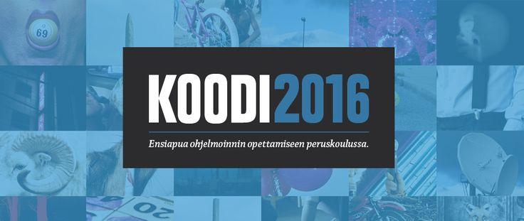 Koodi2016 | Ensiapua ohjelmoinnin opettamiseen peruskoulussa