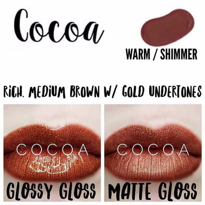 Cocoa LipSense. I would love to be your LipSense girl. Independent Distributor #400474. Join my Facebook group by clicking link in my profile.