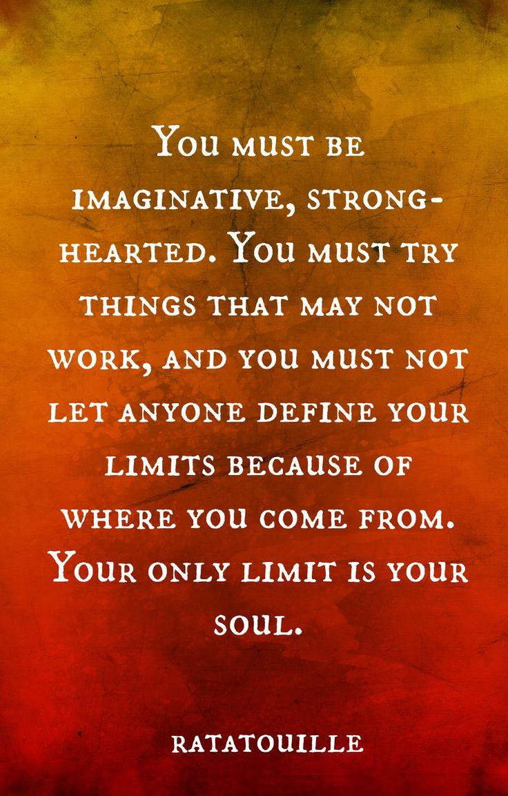 Ratatouille quotes, disney wisdom  Senior Quote!                                                                                                                                                      More