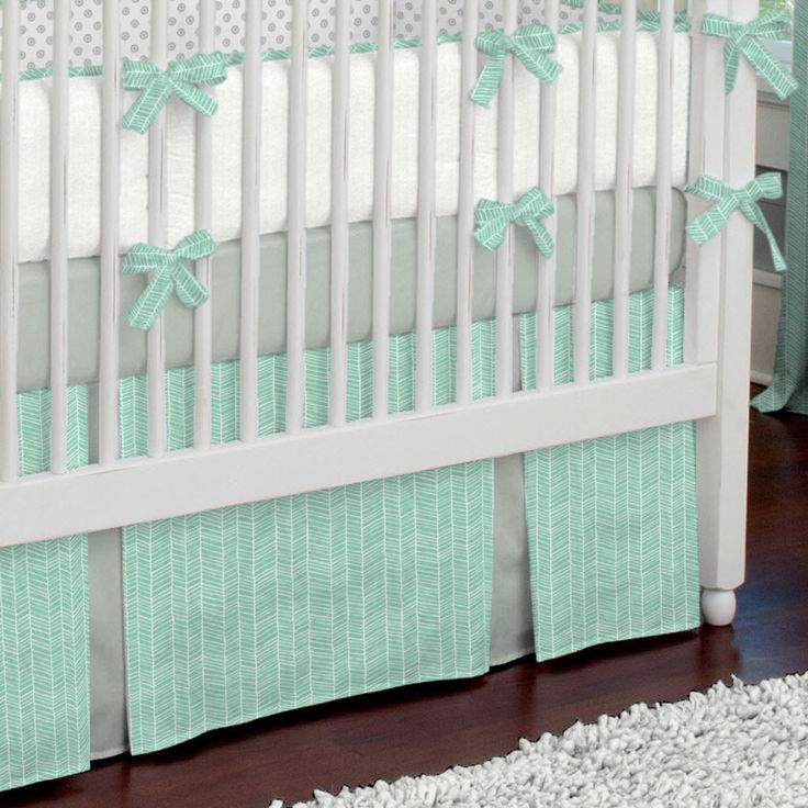Crib Bedding Sets Mint Green