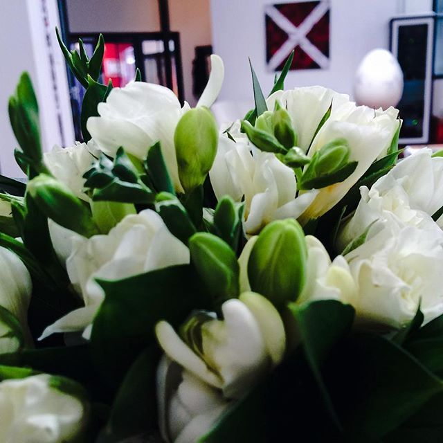 Beautiful bouquet! A special thank you for Tess, our Studio Manager, from a happy client.