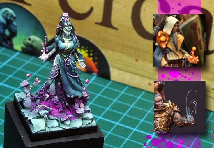 MASSIVE VOODOO: Tutorial: Magic Effects on Miniatures