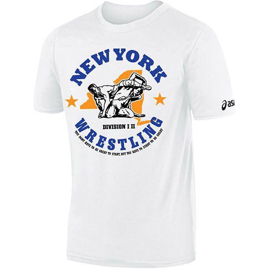 asics wrestling t shirts