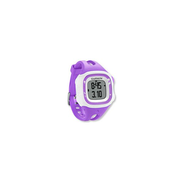 Garmin Forerunner 15 GPS Fitness Watch ❤ liked on Polyvore featuring jewelry, watches, garmin wrist watch, garmin and garmin watches