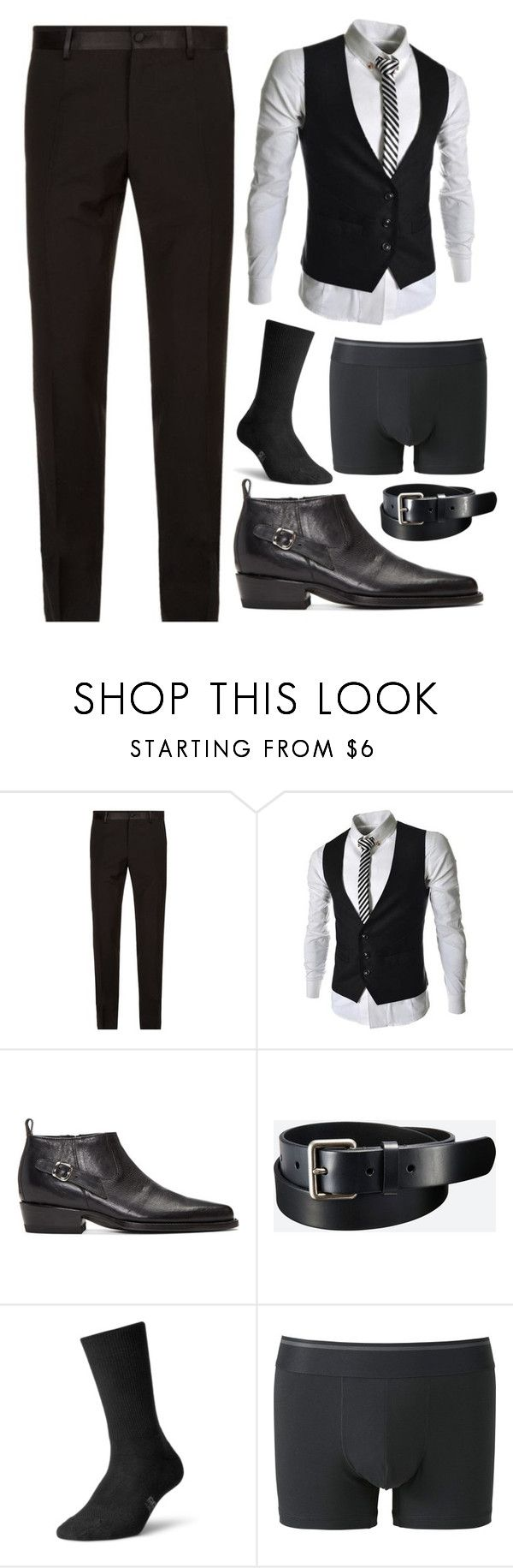 """Untitled #4267"" by natasha-maree13 ❤ liked on Polyvore featuring Dolce&Gabbana, Enfants Riches Déprimés, Uniqlo, New Balance, men's fashion and menswear"