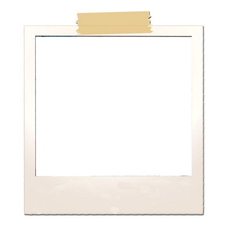 blank polaroid png - 736×736