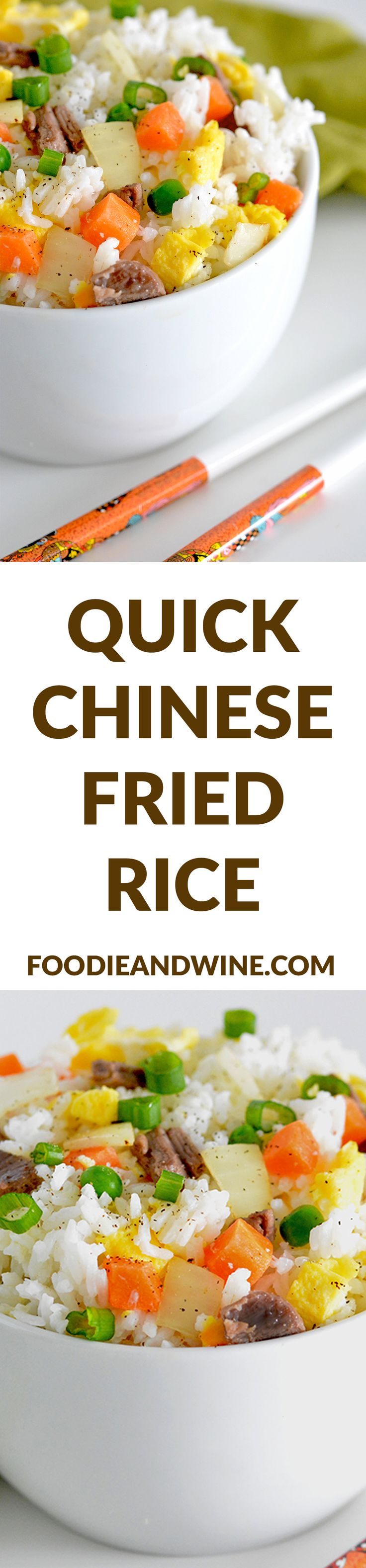 Chinese Beef Fried Rice | Recipe | Pork, Chinese recipes ...