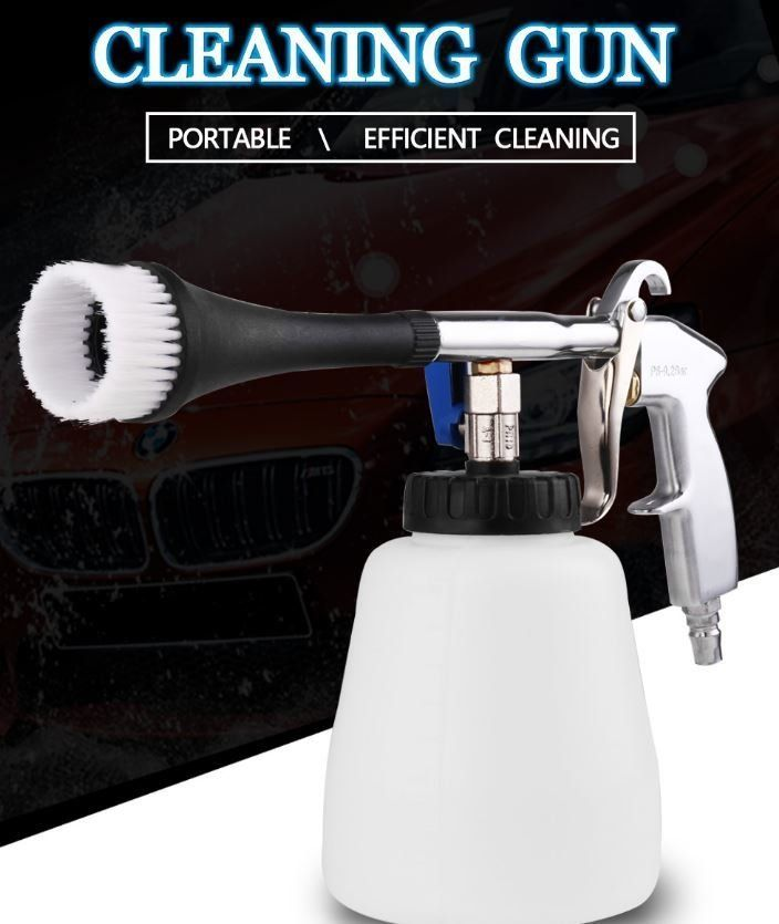 Ingenious Tornado Car Washer Gun High Pressure Cleaning Tool Automobiles Deep Cleaning Dry Clean Washing Gun For Cars Tornado Clean Tool Power Tool Accessories