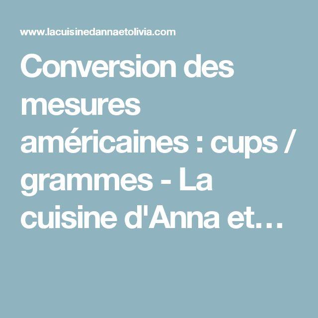 Les 25 meilleures id es concernant conversions de mesures - Conversion mesures cuisine ...