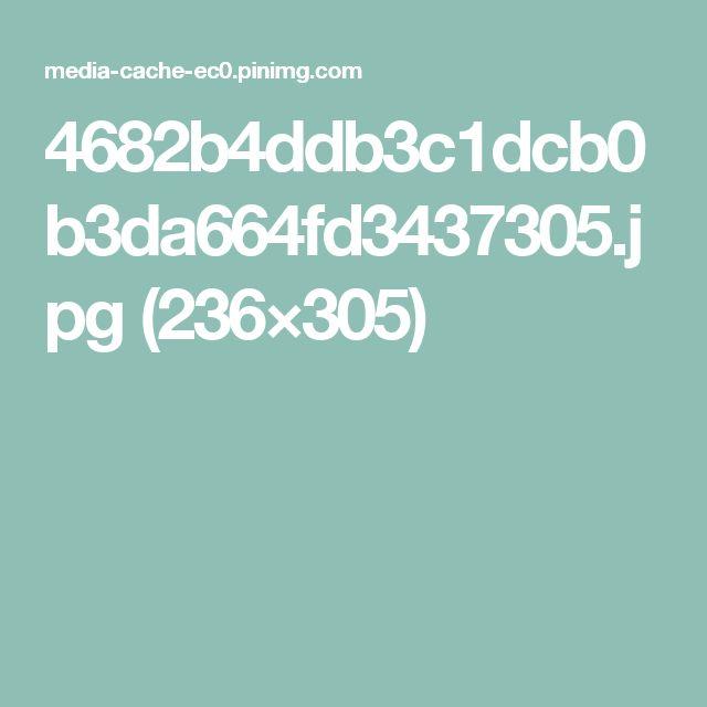 4682b4ddb3c1dcb0b3da664fd3437305.jpg (236×305)