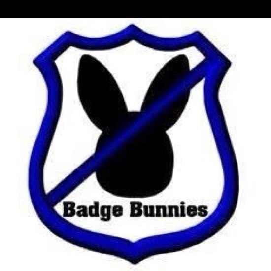 No badge bunnies :)