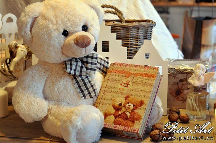 Plechové krabičky nejen pro medvídky :)