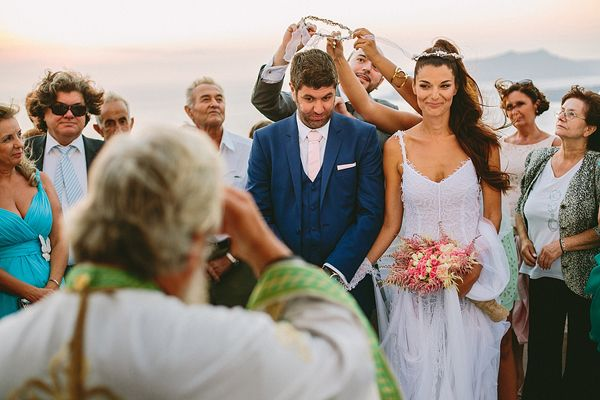 A #shabby_chic wedding in #Santorini See more http://www.love4weddings.gr/shabby-chic-wedding-santorini/ #weddingsingreece