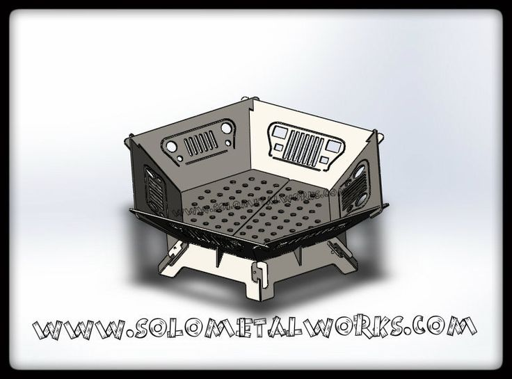 10 best fire pits images on pinterest steel plate fire for Prefab fire pit