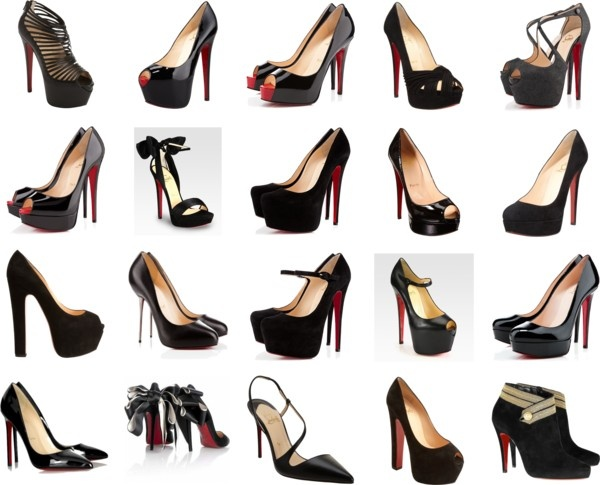 """""""Christian Louboutin - Black"""" by ailee87 on Polyvore"""