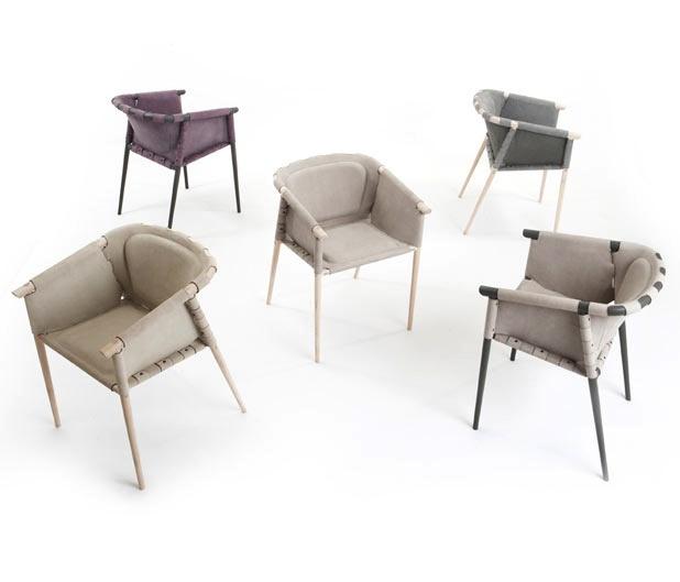 Banjamin Hubert cargo chair
