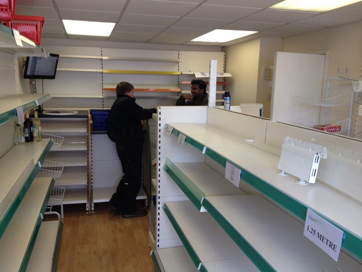 Experts in shop fitting & shop shelving | shelving4shops: Shop Shelving Showroom and Planning Service from Shelving4Shops