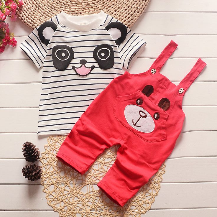 ==> [Free Shipping] Buy Best Mickey Children's Clothing Matching New Mine 2017 Baby Boy Clothes Short-Sleeved Shirt  Pants Style Children's Summer Clothes Online with LOWEST Price | 32650343779