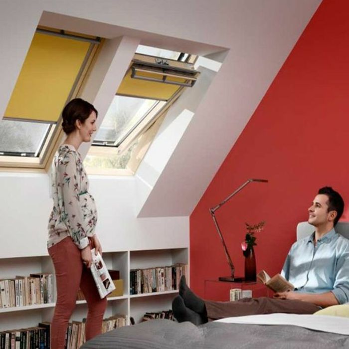17 meilleures id es propos de store velux sur pinterest store pour velux store fenetre de. Black Bedroom Furniture Sets. Home Design Ideas