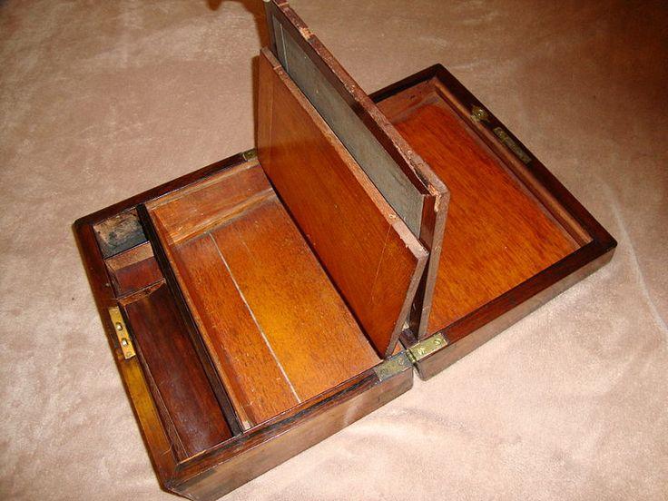 Portable Desk Lap Antique Laptop