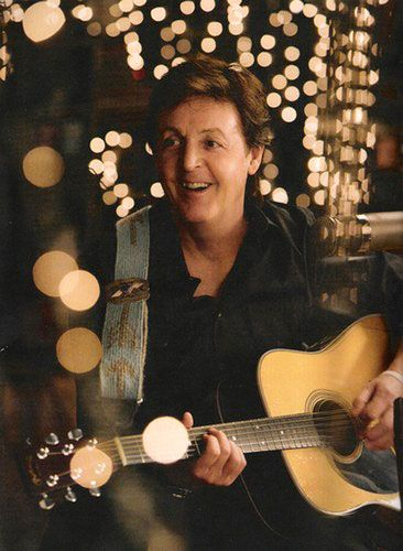 Paul McCartney / I love this picture