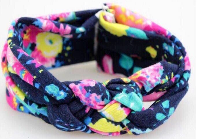 A personal favorite from my Etsy shop https://www.etsy.com/listing/546587939/floral-knotted-headband