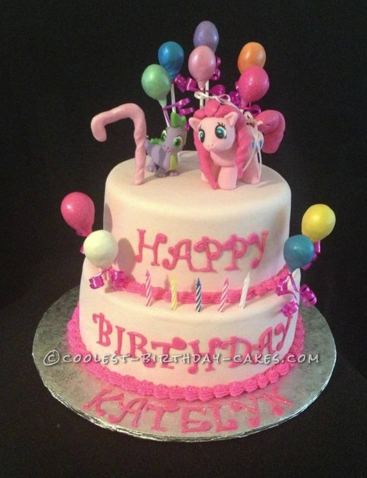 Birthday Cake Images With Name Pinky : 31 best images about Pinkie Pie Birthday on Pinterest