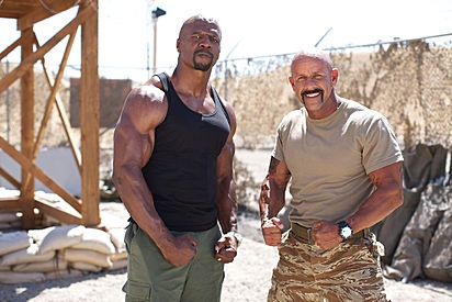 Terry Crews And Dale Comstock The Teams Are Set Pinterest Photos Colleges And Professor