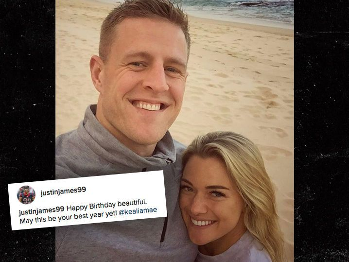 JJ Watt Goes 'Social Media' Public with Soccer Star Girlfriend (Photo)
