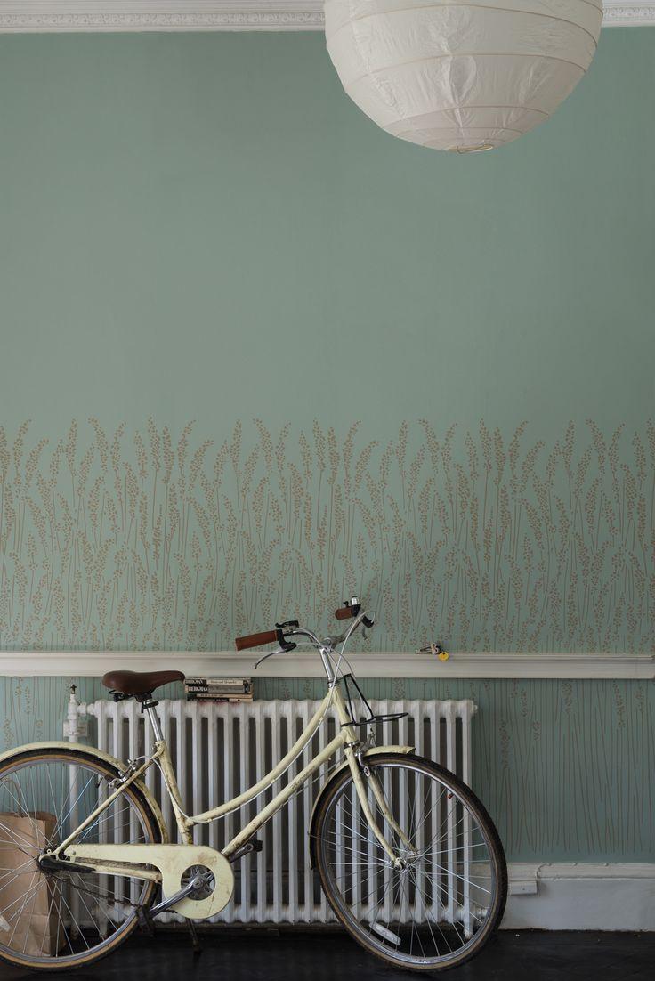 2015 New Wallpapers | Feather Grass BP 5107 | Farrow & Ball