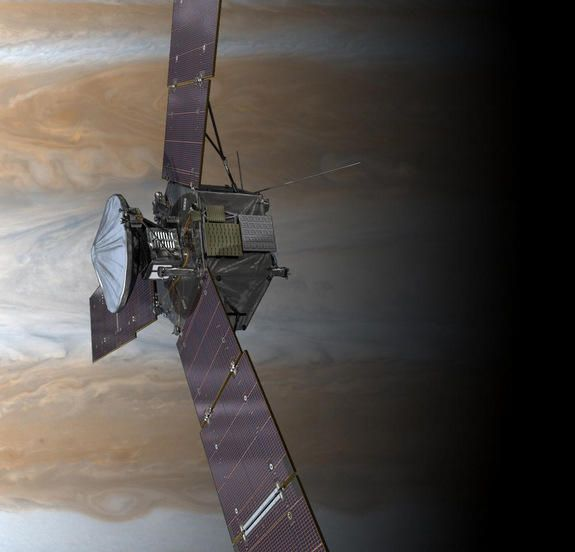 Jupiter is probably the best place in the solar system to study how the magnetic fields of planets are generated. The Juno spacecradft will arrive at the Jovian system in July 2016--then circle the planet and collect data.