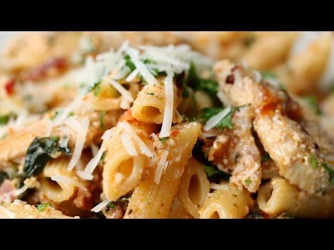 Make This Creamy Chicken Penne For A Lazy Night In