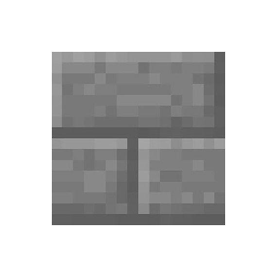 Minecraft Stone Block : Minecraft stone brick vinyl wall decal by