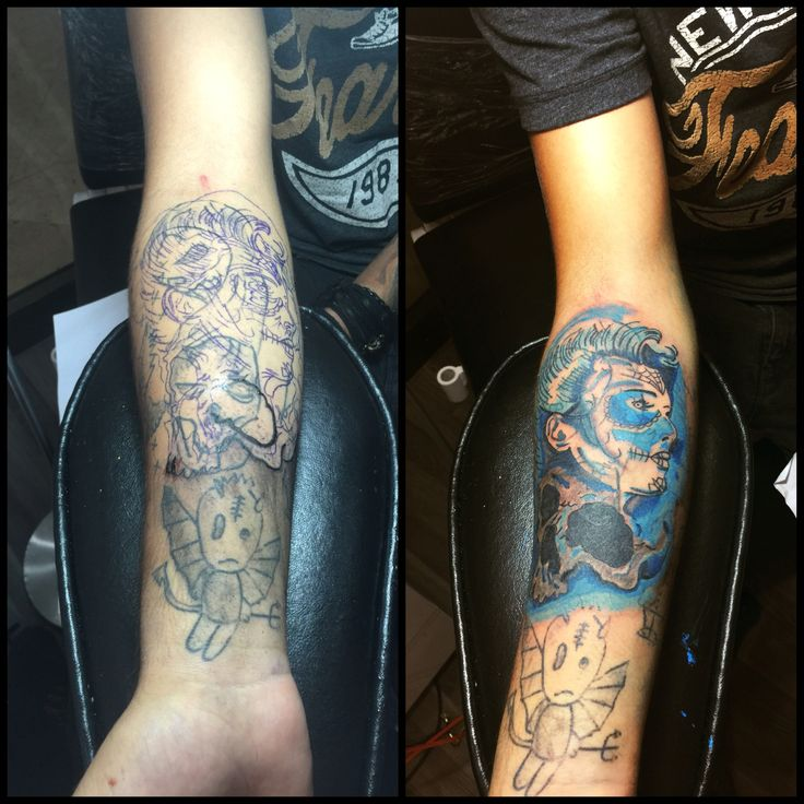 Cover Up Tattoo Seans 1