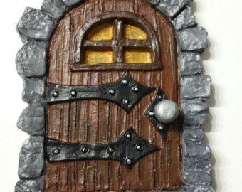 Puerta hada / gnomo elfo de la puerta-para por ScaryGarycreations