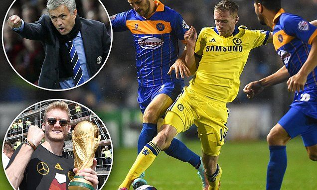Schurrle was Germany's secret weapon - now he must shape up at Chelsea