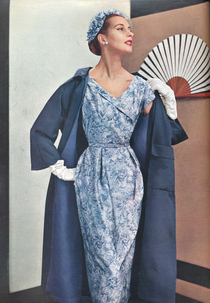 https://flic.kr/p/eh9vU9 | L`Officiel N 375-376 /June 1953 | Paris elegance 1953 /page 76