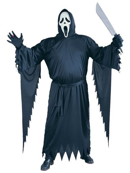 $34.97 Ghost Face Costume   Cheap Plus Size Scream Costumes for Adults