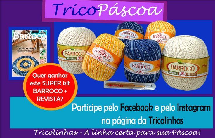 A Tricolinhas tem o prazer de apresentar a todos sua SUPER PROMOÇÃO DE PÁSCOA!!! Participe! É IMPERDÍVEL!!!