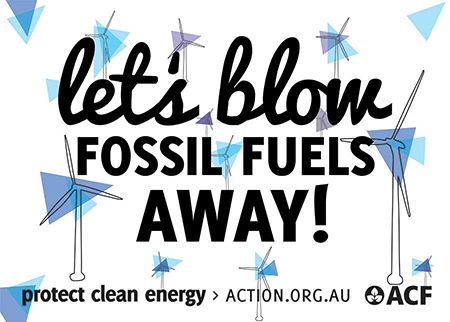 Will you help spread the clean energy message even further? If you haven't already, put up some posters in public places! Let us know how many and we'll post them to you.