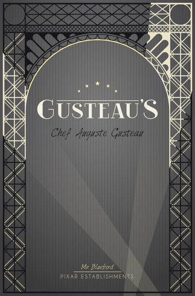 Pixar Establishments:  Gusteau's