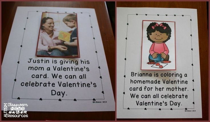 Valentines Interactive Books with repeated phrase on each page for AAC use from Autism Classroom News and Resources