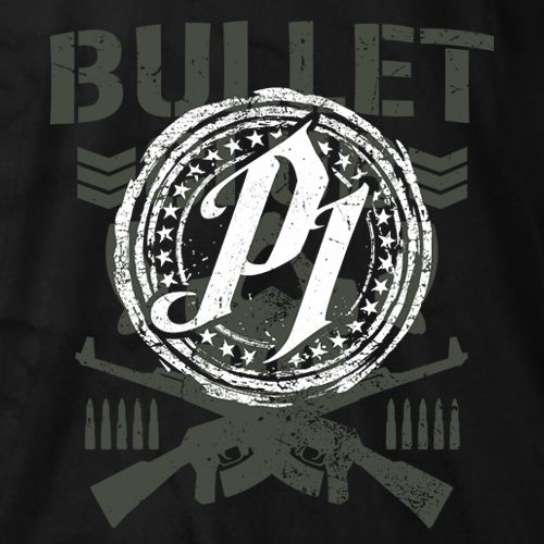 New Japan Pro-Wrestling - P1 AJ Styles Bullet Club T-shirt